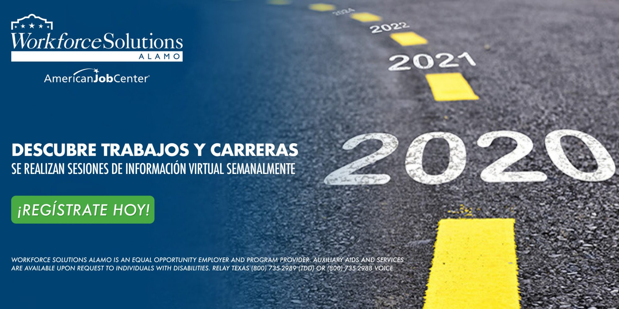 Discover Jobs and Careers Information Session Spanish advertisement